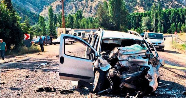 Nallıhan'da trafik kazası can aldı