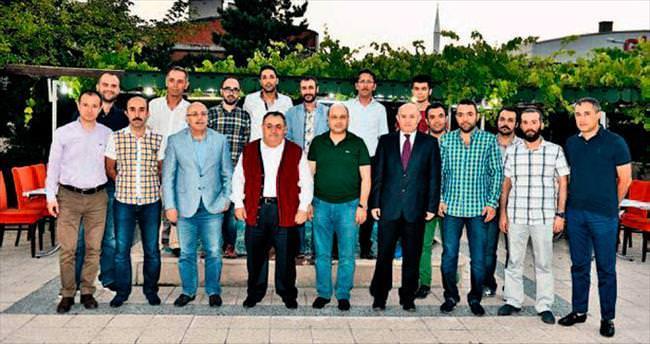 Ankaralı gazeteciler Halk Ekmek'te buluştu