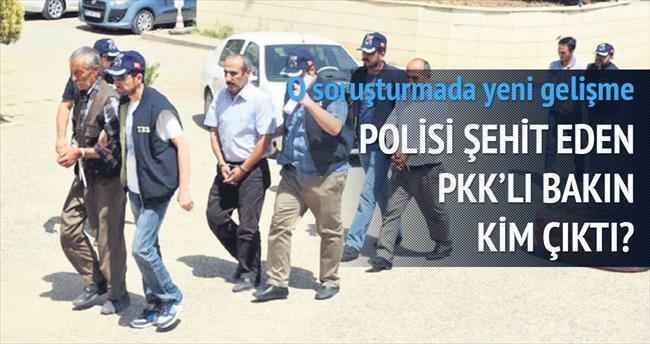 Polisi şehit eden, PKK bölge sorumlusu çıktı