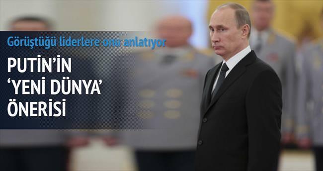 Putin'in 'yeni dünya' öneri