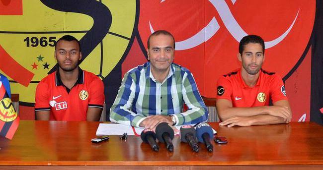 Junio Souza ve Khalifa Eskişehirspor'da