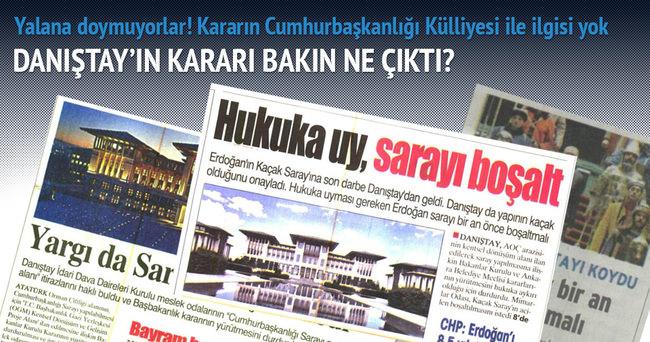 Cumhurbaşkanlığı'ndan Danıştay kararı açıklaması