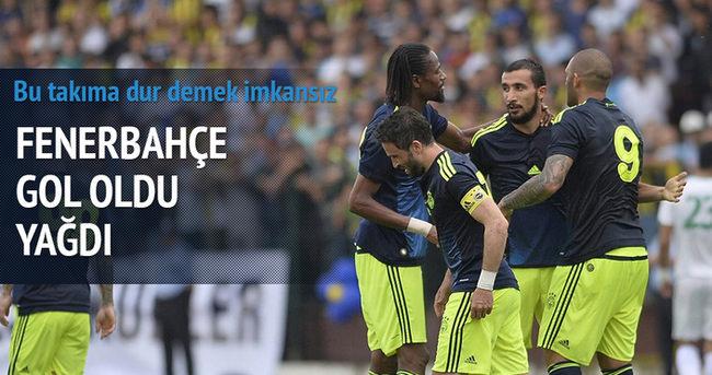 Fenerbahçe gol oldu yağdı: 7-0
