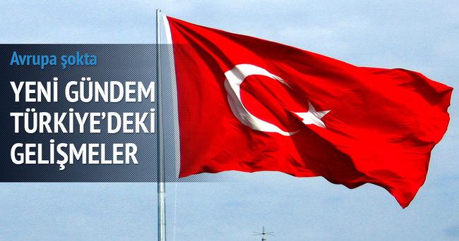 Türk futbolundaki gelişim Avrupa'nın manşetlerinde