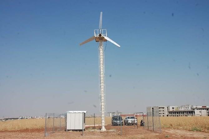 Adıyaman'da, Yerli Rüzgar Türbini? Kuruldu
