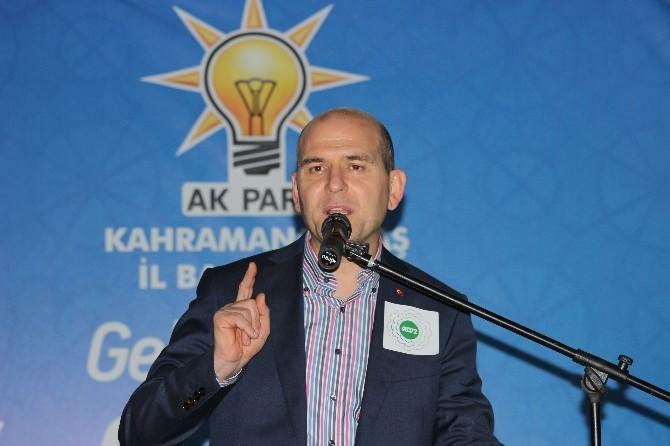 AK Parti Genel Başkan Yardımcısı Soylu;