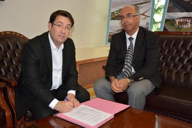 """Aksaray'da """"Girişimcilik Eğitimi"""" Protokolü İmzalandı"""