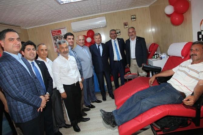 ATO Tarafından İnönü Parkı'nda Yaptırılan Kan Bağış Evi, Kızılay'a Teslim Edildi