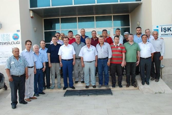 Aydın Ziraat Odaları Koordinasyon Kurulu Didim'de Toplandı