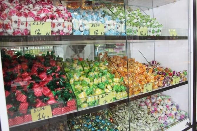 Bayram Şekerleri Tezgahları Süsledi
