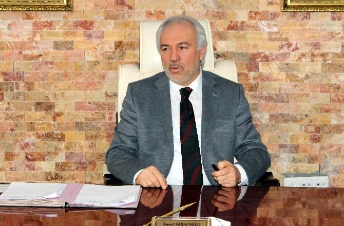 Başkan Kamil Saraçoğlu'ndan Başsağlığı Mesajı