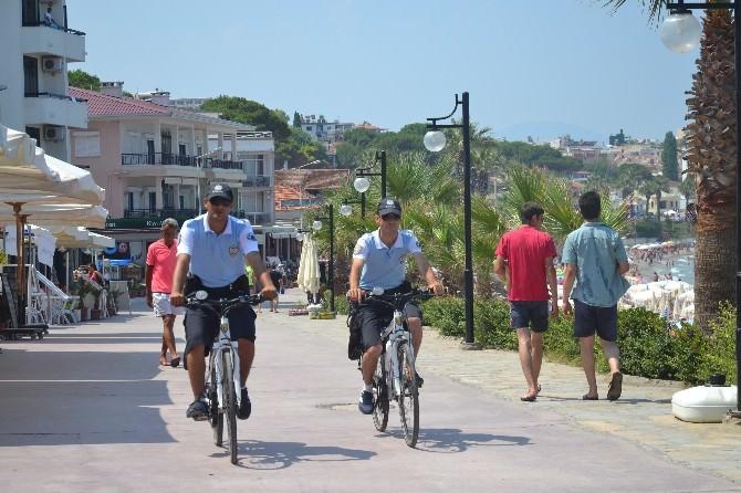 Bisikletli Turizm Polisleri Görev Başında