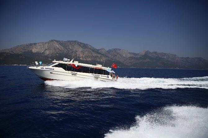 Antalya Deniz Ulaşımını Çok Sevdi
