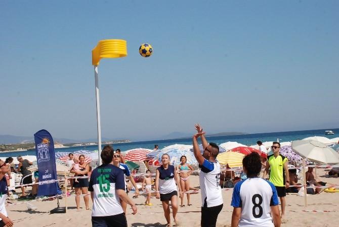 Didim 3. Plaj Korfbol Turnuvası Başladı