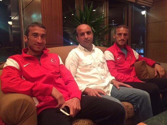 Avrupa Gençler Atletizm Şampiyonasına Erzurum'da Hazırlanıyorlar