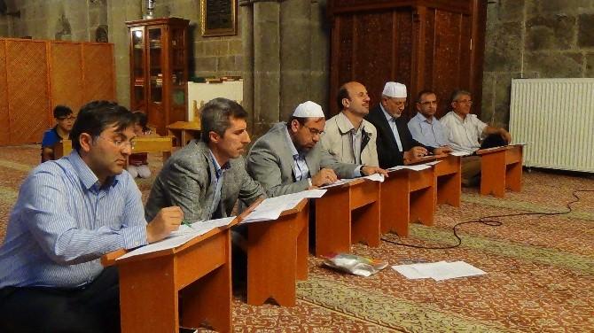 Erzurum'da Hutbe Okuma Yarışması Bölge Finali Yapıldı