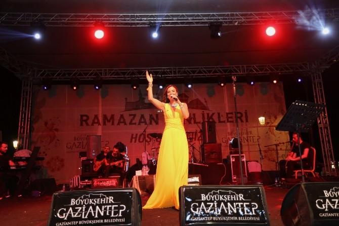 Gaziantepliler Ramazan Ayının Yorgunluğunu Sevcan Orhan İle Attı