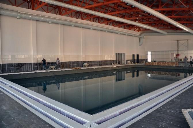 Gümüşhane Yüzme Havuzu Test Sürecinde