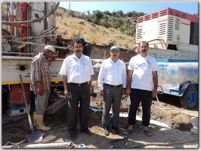 Musabeyli'de Su Sorunu Sondajla Çözüldü