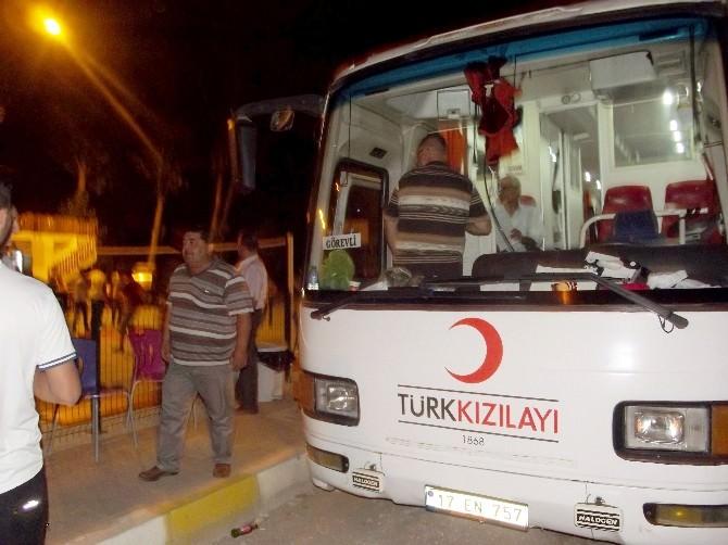 Terzialan Beldesinden Türk Kızılay'ına 35 Ünite Kan Bağışı