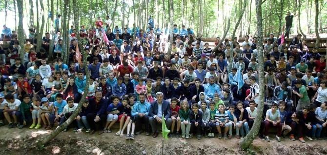 Başkan Karaosmanoğlu, Aytepe Kampını Ziyaret Etti