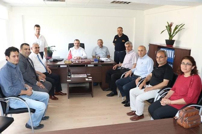 Alaşehir Koordinasyon Merkezi'nde Hizmet Toplantısı