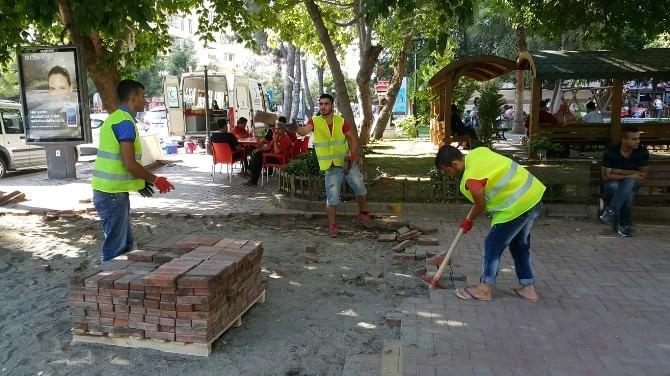 Toros Caddesi'nde Esnafı Sevindiren Çalışma