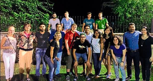 Yabancı öğrenciler Adana'yı beğendi
