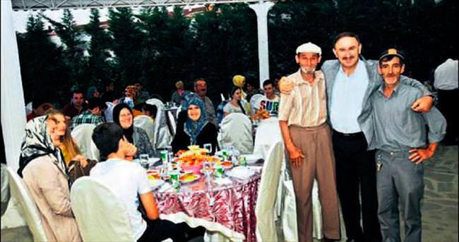 Ramazanın en anlamlı iftarı
