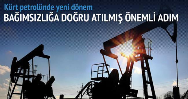 Kürt petrolünde bağımsız dönem