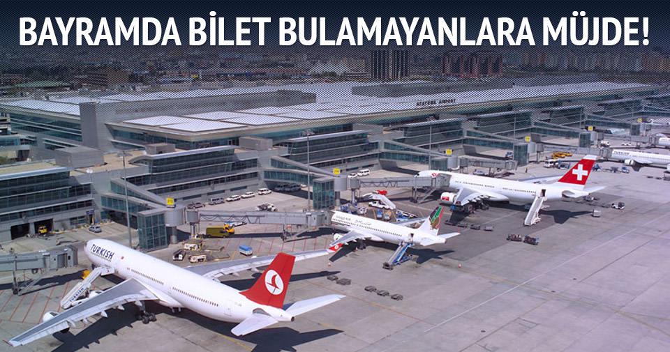 Havayolu şirketleri bayramda ek seferler düzenleyecek