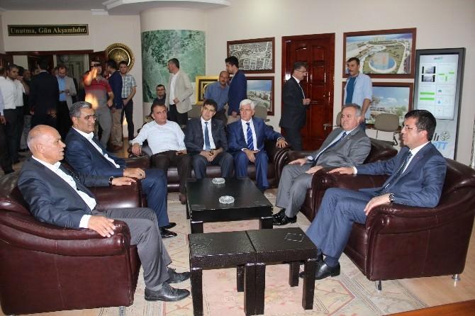 Ekonomi Bakanı Zeybekci Karaman'da