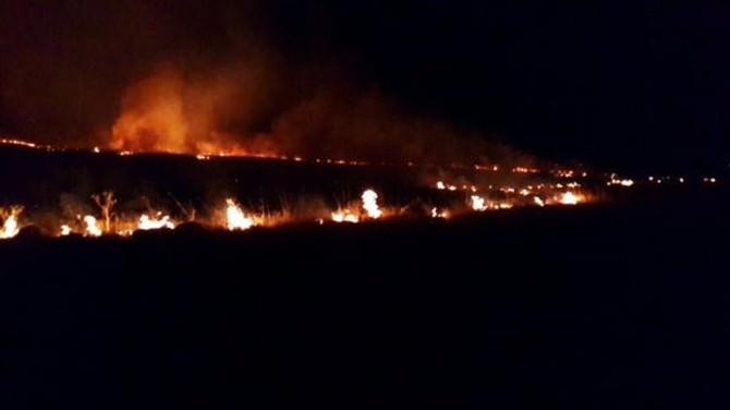 Katı Atık Deposundaki Yangın Korkuttu