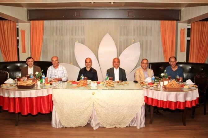 Erzincan Gazeteciler Cemiyeti İftarda Buluştu