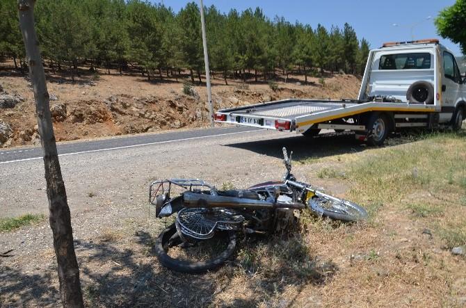 Kahramanmaraş'ta Motosiklet Kazası: 1 Ölü, 1 Yaralı