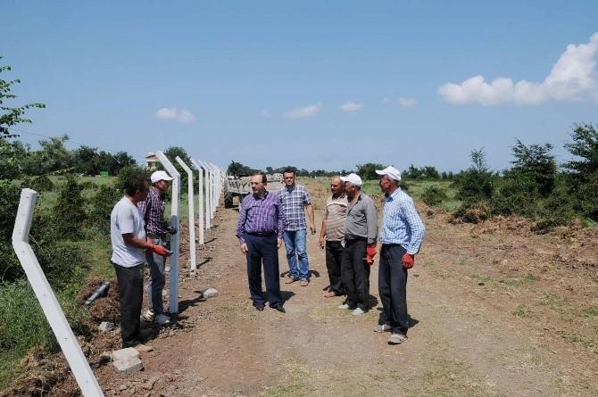 Bafra Belediyesi Yeni Mezarlık Yeri Yapıyor