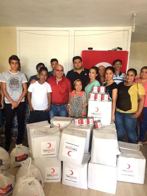 Kızılay'dan Kan Hastalarına Gıda Yardımı