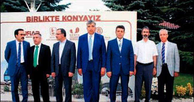 Konyalılar İncek'te bir araya geldi