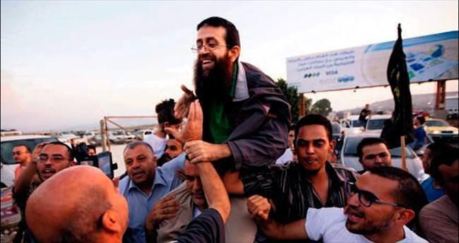Filistinli Adnan 10'uncu kez serbest