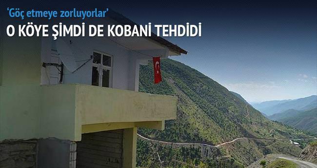 O köye şimdi de Kobani tehdidi...