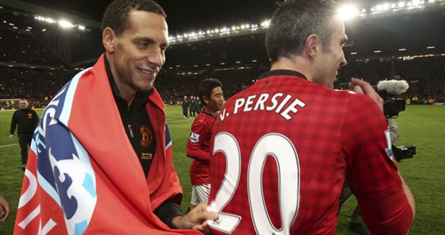 Ferdinand'dan Van Persie'ye övgü