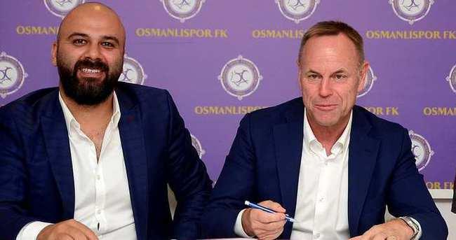 Osmanlıspor'da Jürgen Röber sürprizi