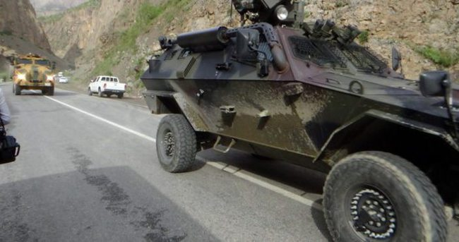 Hakkari'de askeri hareketlilik!