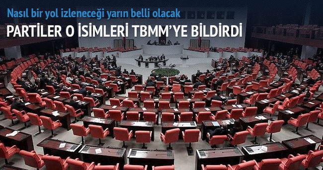 Partiler RTÜK'e üye adaylarını TBMM'ye sundu