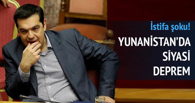 SYRIZA milletvekili istifa etti