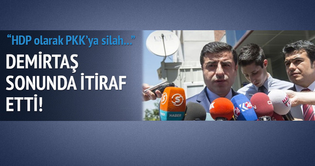 Demirtaş: HDP olarak PKK'ya silah bıraktıramayız