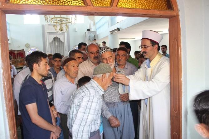 Samsat'ta Sakal-ı Şerif Ziyarete Açıldı