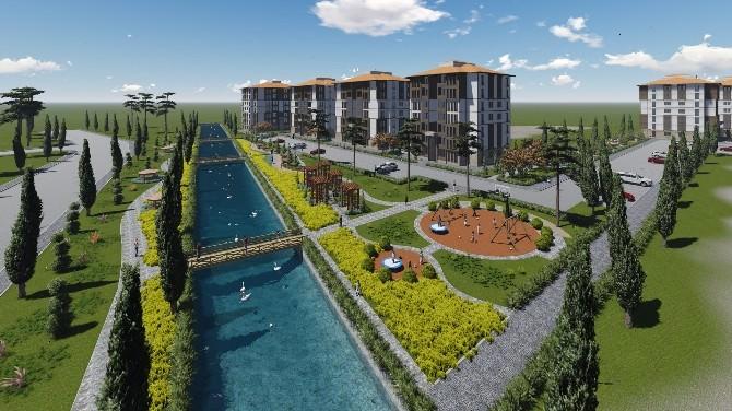 TOKİ Çorum'daki Yatırımlarını Hız Verdi