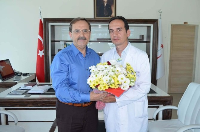 Başkan Şahin'den Hastane Ziyareti