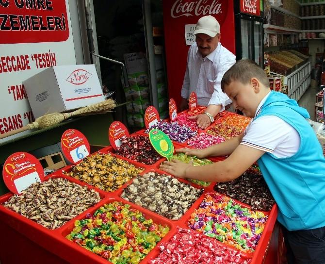 Bayram Şekerleri Tezgahlarda